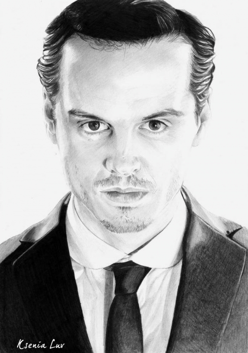 Andrew Scott by Ksenia22